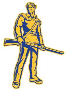 WVU West Virginia Mountaineers 15 Decal