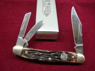 BOKER KNIVES 280S STAG GENUINE SOLINGEN GERMANY WHITTLER KNIFE NEW