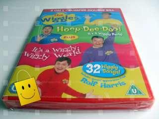 The Wiggles Hoop Dee Doo   Wiggly Wiggly World  DVD  5034217418032The Wiggles Wiggly Wiggly World Vhs