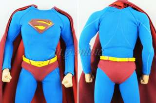 Hot Toys SUPERMAN Figure 1/6 BODY with RED CAPE