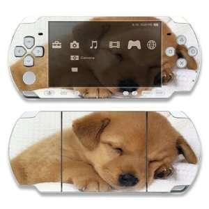 Sony PSP Slim 2000 Decal Skin   Animal Sleeping Puppy