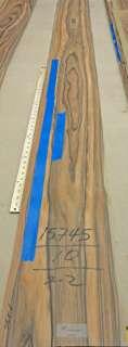 South American Rosewood wood veneer 10 x 99 no back