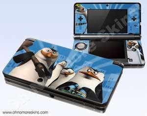 Nintendo 3DS Skin Vinyl Decal   Madagascar Penguins #2