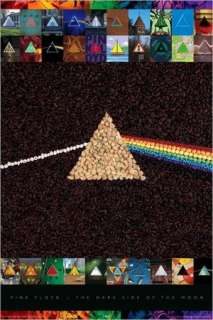 Pink Floyd   Dark Side of the Moon Collage   Poster