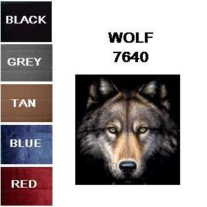 WOLF LOW BACK BUCKET CAR AUTO SEAT COVERS 2 SEATCOVERS