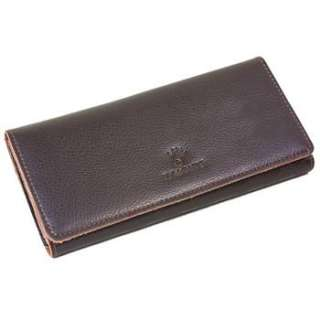 Fashion Womans Real Leather Wallet Clutch Cards Slot Purse Free
