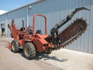 1996 DITCHWITCH 8020 Ride On Trencher Backhoe DOZER BLADE
