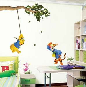 WINNIE THE POOH   Kids Nursery Removable Wall Stickers