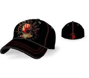 FINGER DEATH PUNCH Way of the Fist Flexible Baseball Cap Hat NEW 5FDP