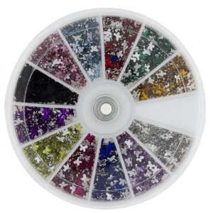 Premium MASH 1200 Piece 12 Color Nail Art Nailart Design