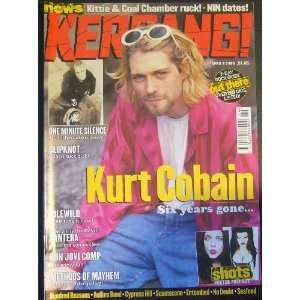 796 April 8, 2000 (Kurt Cobain cover) Kurt Cobain, Nirvana Books