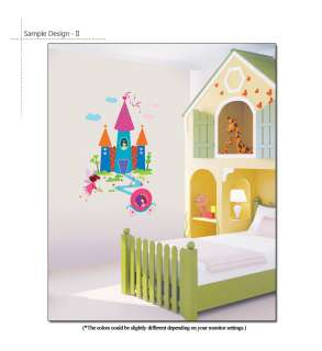 ] Dream Palace & Pumpkin Carriage Girls Room Decor Wall
