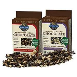 Living Foods Rainforest Cacao Chocolate 2 oz: Health