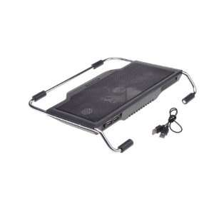 Black Useful USB Notebook Cooler Cooling Pad for Laptop PC