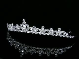 Bridal Wedding Swarovski Crystal Crown Tiara 6248