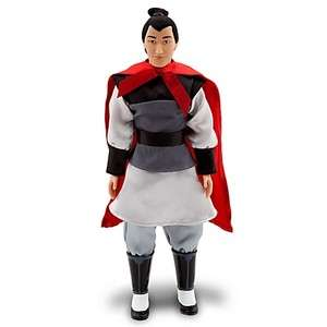 NEW DISNEY MULAN LI SHANG DOLL 12 H 460582166707