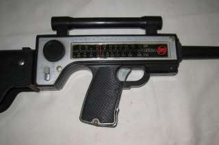 1964 MATTEL ZERO M RADIO RIFLE CAP GUN TOY 22 LONG
