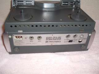 Wollensak 1580 Stereo Reel To Tape Recorder Tube Amp