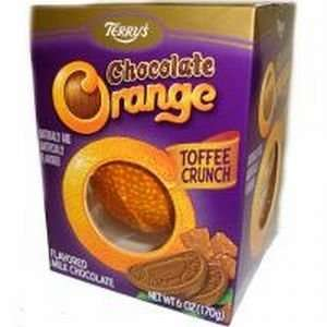 Terrys Milk Chocolate Toffee Crunch Orange Ball