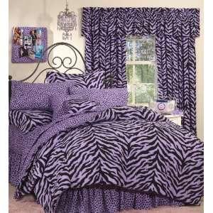 Lavender Zebra Complete Bedding Set