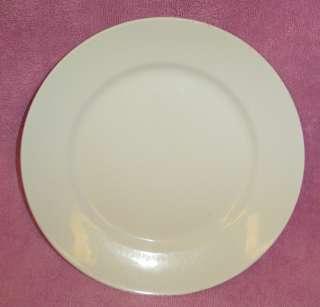 Set 6 Vintage Homer Laughlin White Dinner Plates