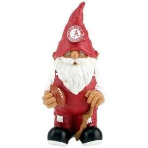 Alabama Crimson Tide Football Garden Gnome Sports
