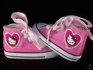 Kids Custom Chuck Taylor Hello Kitty Converse Shoes