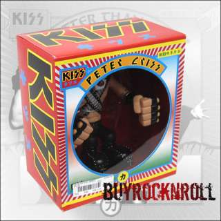 KISS Love Gun Hotter Than Hell Gruntz Figure Peter Criss NEW