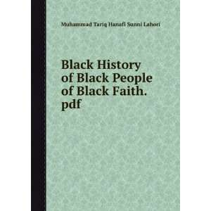 Black History of Black People of Black Faith.pdf Muhammad