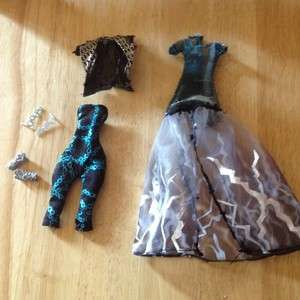 New Monster High Frankie Ghouls Rule Doll Outfit Dress Fashion