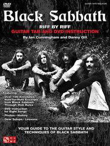 Black Sabbath   Riff by Riff Guitar Tab   Book and DVD