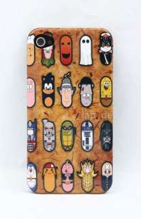 Cartoon TV Movie Character ghost chief inspector Hard Case Skin For
