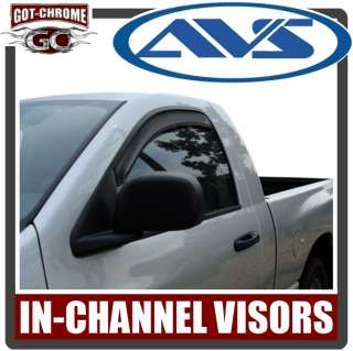 AVS Vent Visors Toyota Tacoma Access Cab 05 10 725478073560