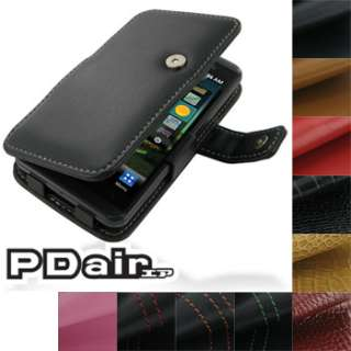 PDair Genuine Leather Book Case for LG Optimus 3D P920