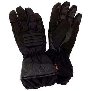 Diamond Plate waterproof winter Motorcycle / Ski Gloves leather palms