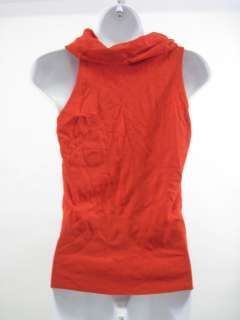 BANANA REPUBLIC Red Sleeveless Shirt Top Sz M