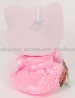 Cute Hello Kitty with adorable head ornament and cute dress