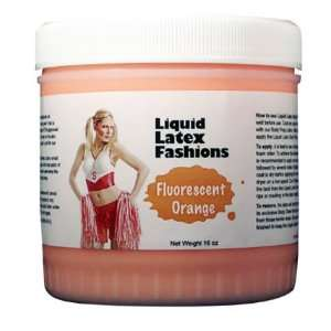 Ammonia Free Liquid Latex Body Paint   32oz Fluorescent