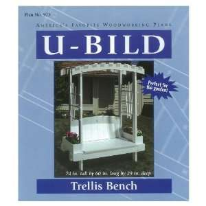U Bild Trellis Bench Woodworking Plan 923