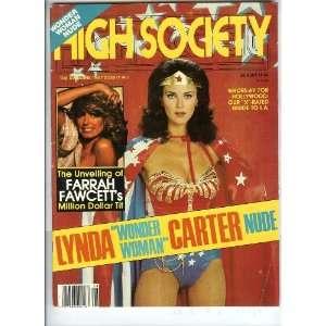 Farrah Fawcett High Society Magazine: High Society Magazine: Books