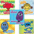 MR. MEN LITTLE MISS 15 LARGE STICKERS Helpful TICKLE items in