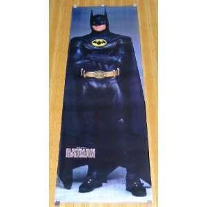 Rare Vintage Original 1989 Batman Movie Michael Keaton 76 by 26 Huge