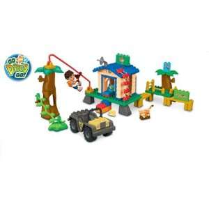 Mega Bloks Go Diego Go Animal Rescue Center: Toys & Games