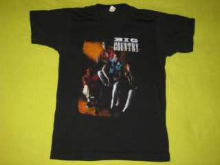 1983 BIG COUNTRY VINTAGE T SHIRT TOUR CONCERT NEW WAVE