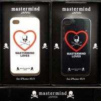 mastermind JAPAN x LOVES iPhone 4 4S Hard Case Black