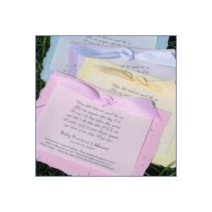 Baby Shower Favors Baby Poem Plantables: Baby