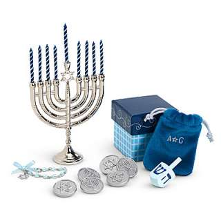 American Girl HANUKKAH GIFT SET Just Like You Doll NEW