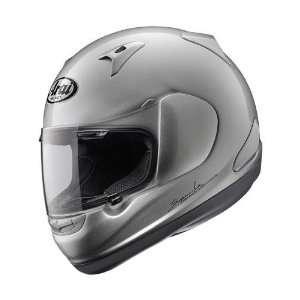 Arai RX Q Motorcycle Racing Helmet Solid Aluminum Silver