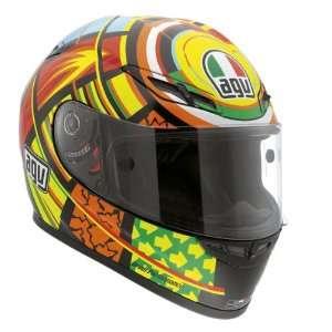 AGV GP Tech Elements Valentino Rossi Replica MotoGP Motorcycle DOT