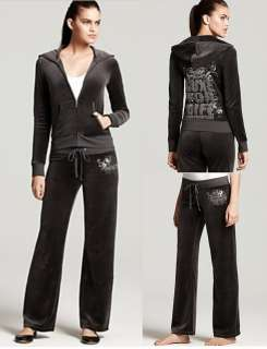 LUXE FOR LIFE TOP HAT VELOUR TRACKSUIT SET JACKET, HOODIE PANTS